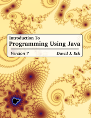 Introduction To Programming With Java, Version 8.1.2