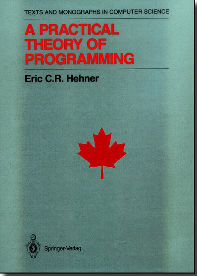 A Practical Theory of Programming, Second Edition