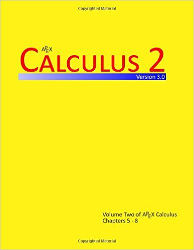 Calculus 2 (APEX Calculus v3.0)
