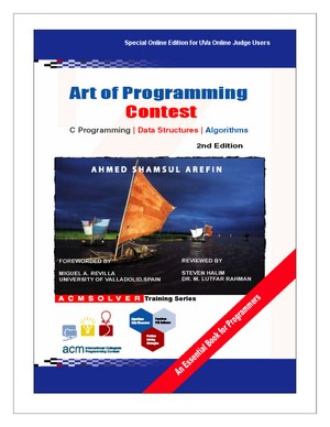 Art of Programming Contest - C Programming, Data Structures, and Algorithms, 2nd Edition