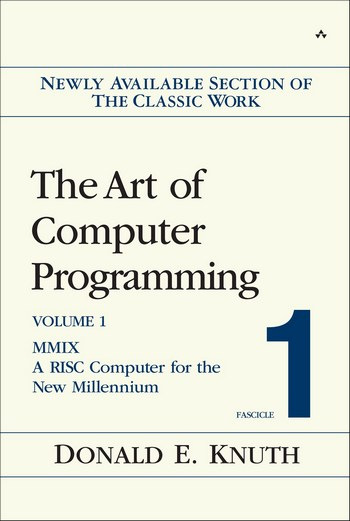 The Art of Computer Programming, Volumes 1-4 Book Cover Picture