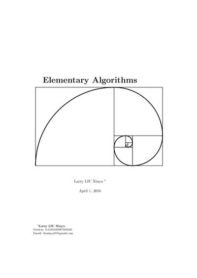 Elementary Algorithms
