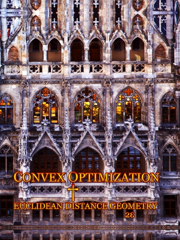 Convex Optimization and Euclidean Distance Geometry 2e