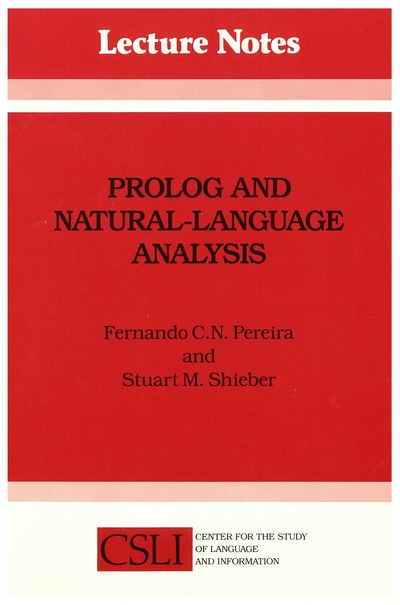 Prolog and Natural-Language Analysis - Digital Edition