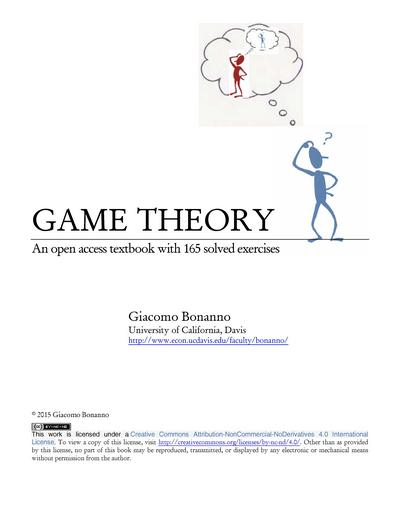 Game Theory: An Open Access Textbook