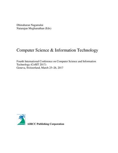 Computer Science & Information Technology