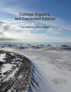 College Algebra - Version [π] Corrected Edition