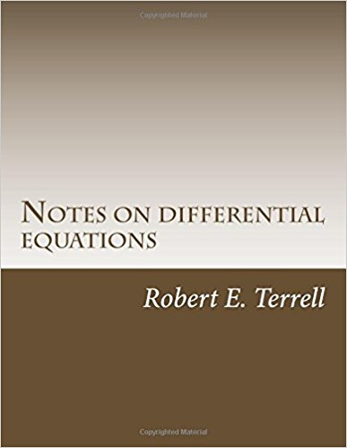 Notes on Differential Equations