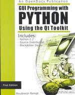 GUI Programming with Python: QT Edition